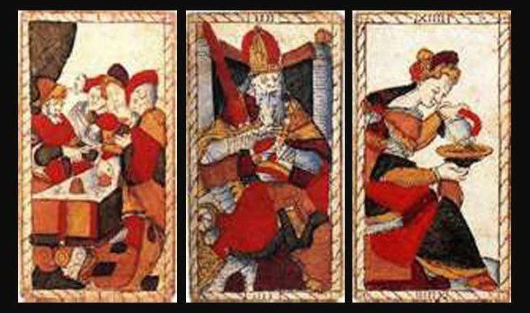 Anciennes Lames du Tarot : Catelin Geoffroy