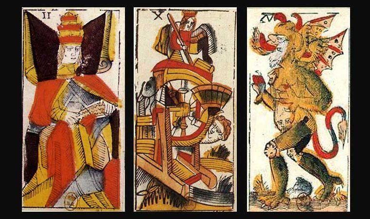 Anciennes Lames du Tarot : Jacques Vieville