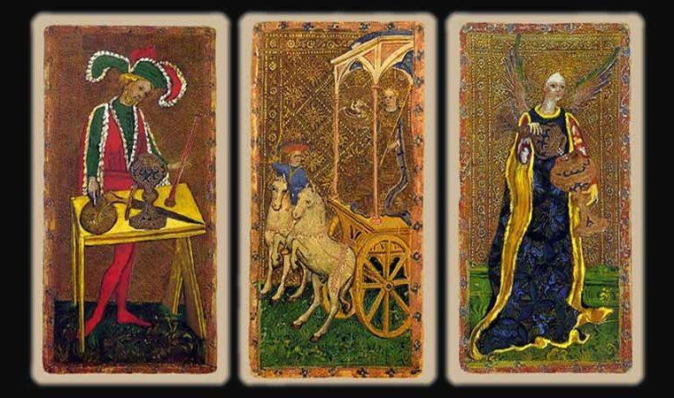 Anciennes Lames du Tarot : Visconti di Modrone